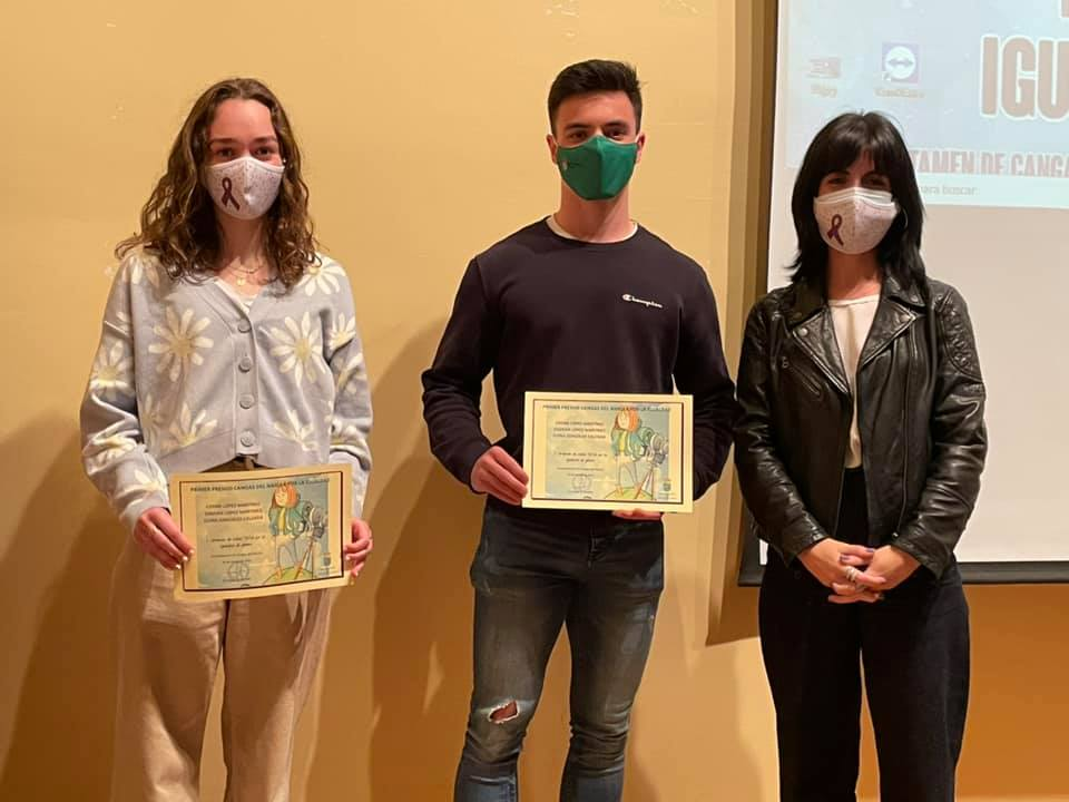 El Ayuntamiento entregó los premios del concurso de Tik-Tok