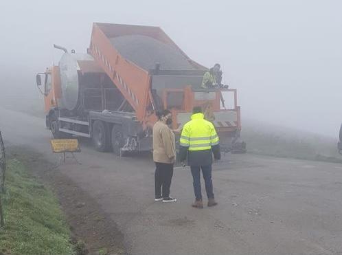 47.600 euros para reparar 6.720 metros cuadrados del acceso al Acebo