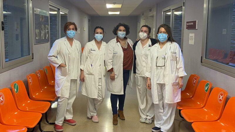 Un equipo de enfermeras del Área pregonará El Carmen