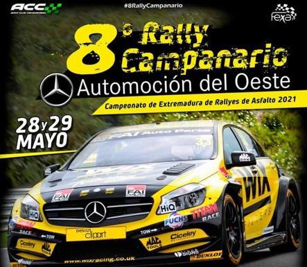 El Rally Campanario llega a Berzocana el sábado 28