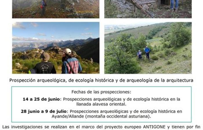 Prospecciones arqueológicas en Allande
