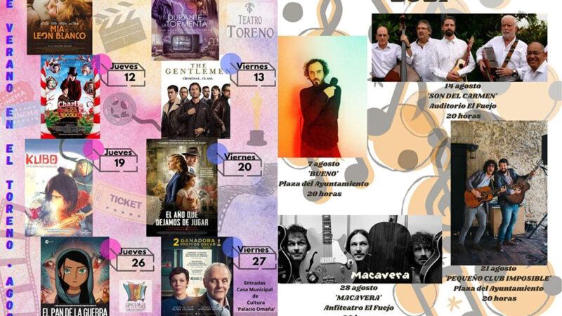 Cine y conciertos en la calle en el 'Agosto Cultural' de Cangas