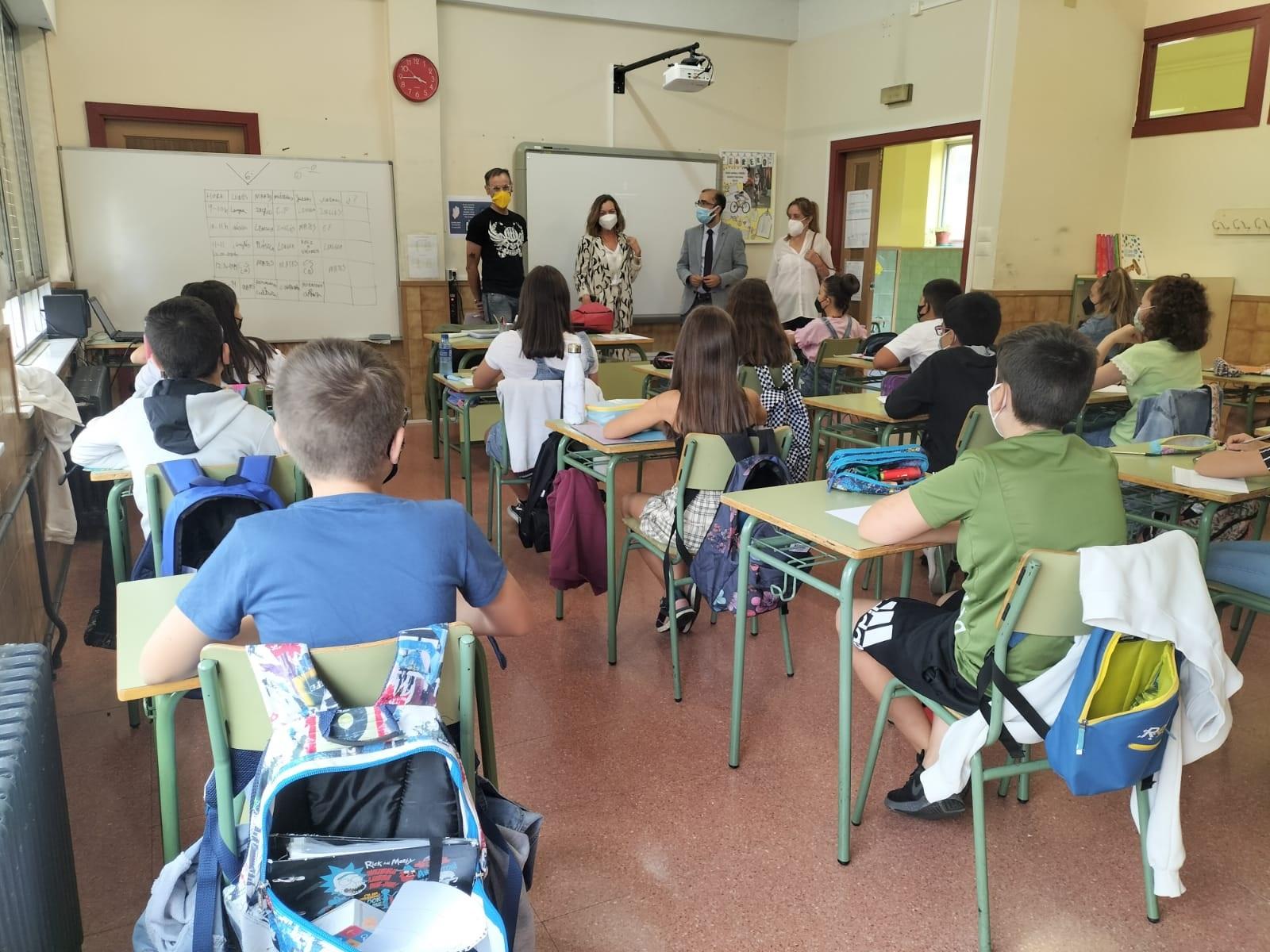 Vuelta al cole en Cangas del Narcea