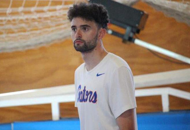 El baloncestista cangués Jaime Llano, al Marbella