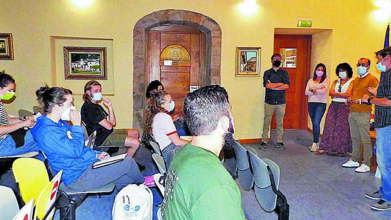 Cangas acogió a 25 jóvenes emprendedores
