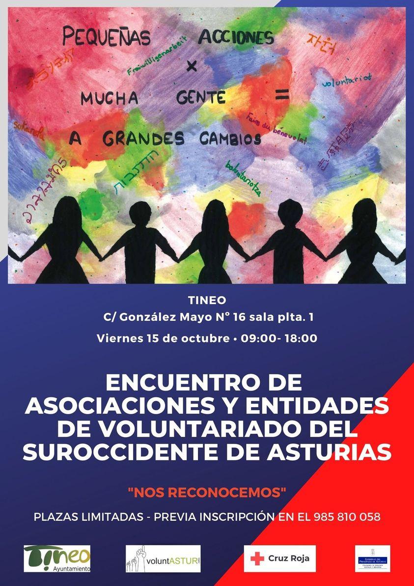 Encuentro de asociaciones y entidades de voluntariado del Suroccidente de Asturias en Tineo